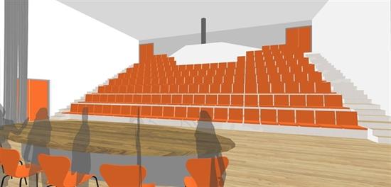 impressie theaterzaal