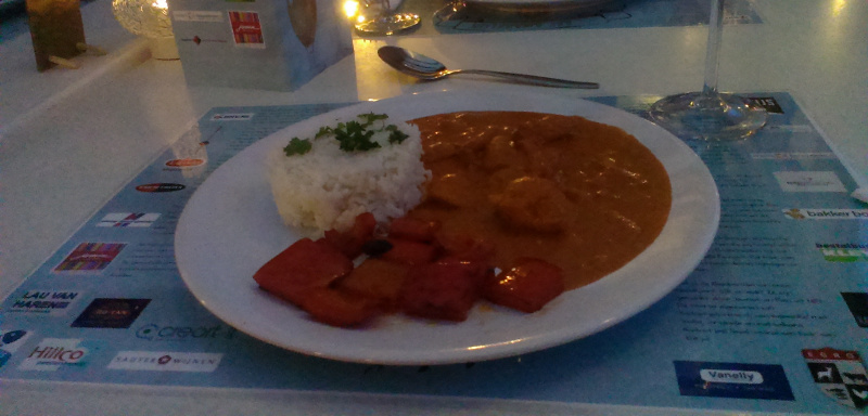 curry happie