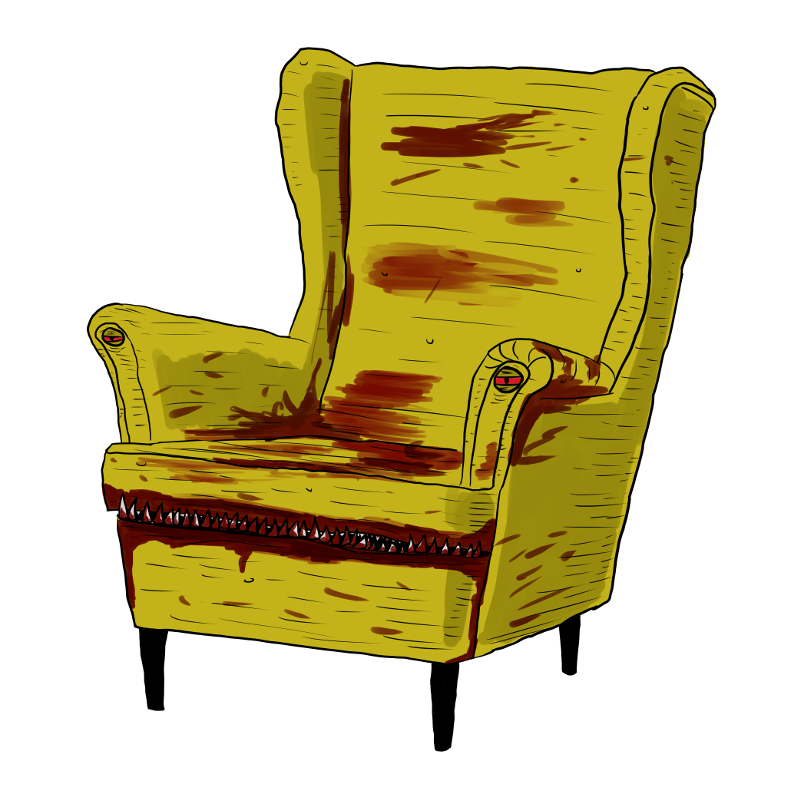 monster stoel