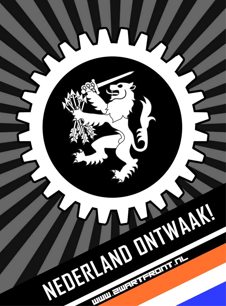poster Zwart Front