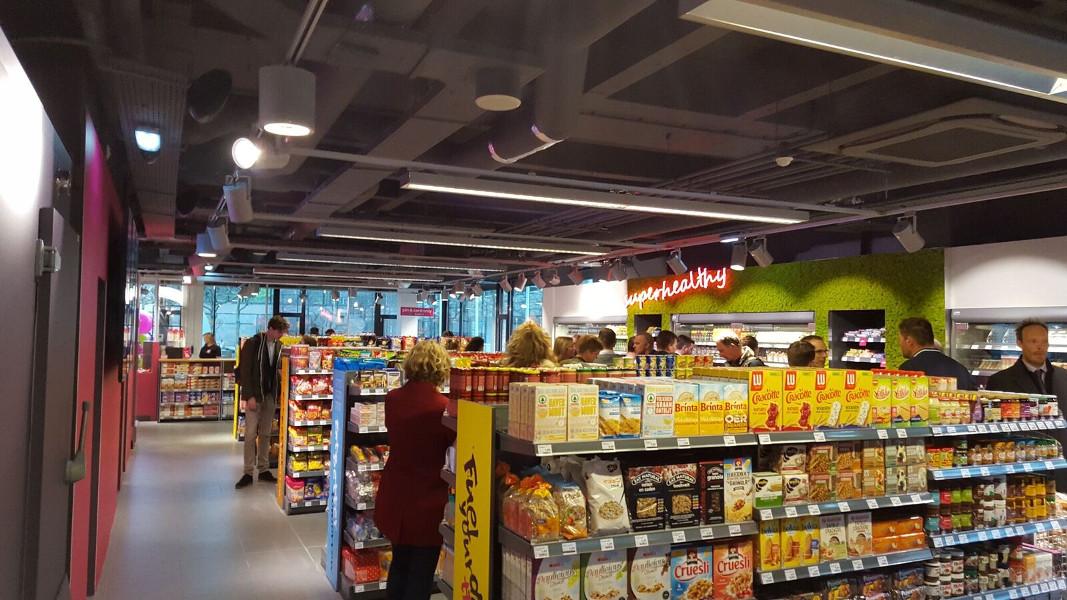 Supermarkt groot