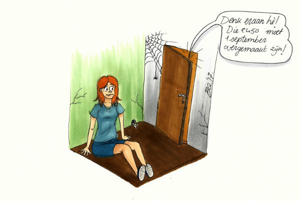 Illustratie 1 Huisjesmelkers groot