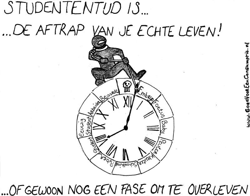 Cartoon ANS trapt af site
