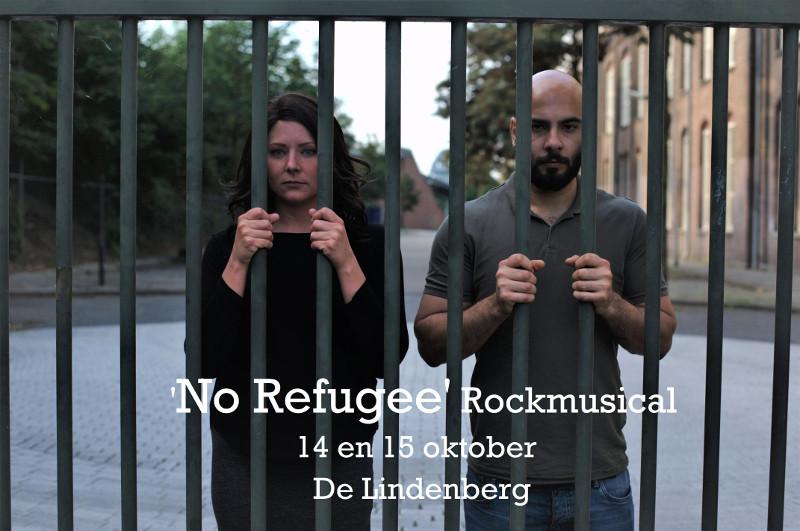 No Refugee persfoto