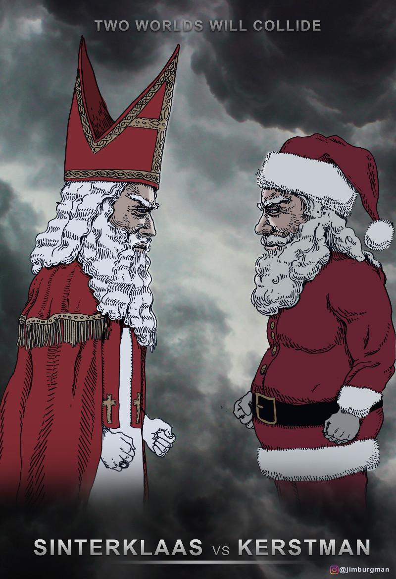 Middenpagina Sint vs. Kerstman groot