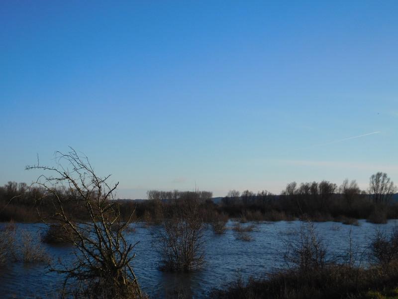 Hoogwater Ooijpolder groot