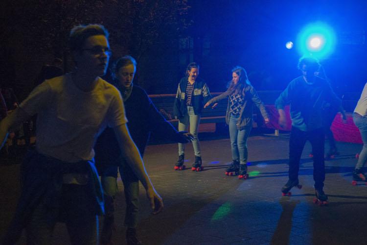 2019 04 18 Radboud by Night 1 Roller Disco